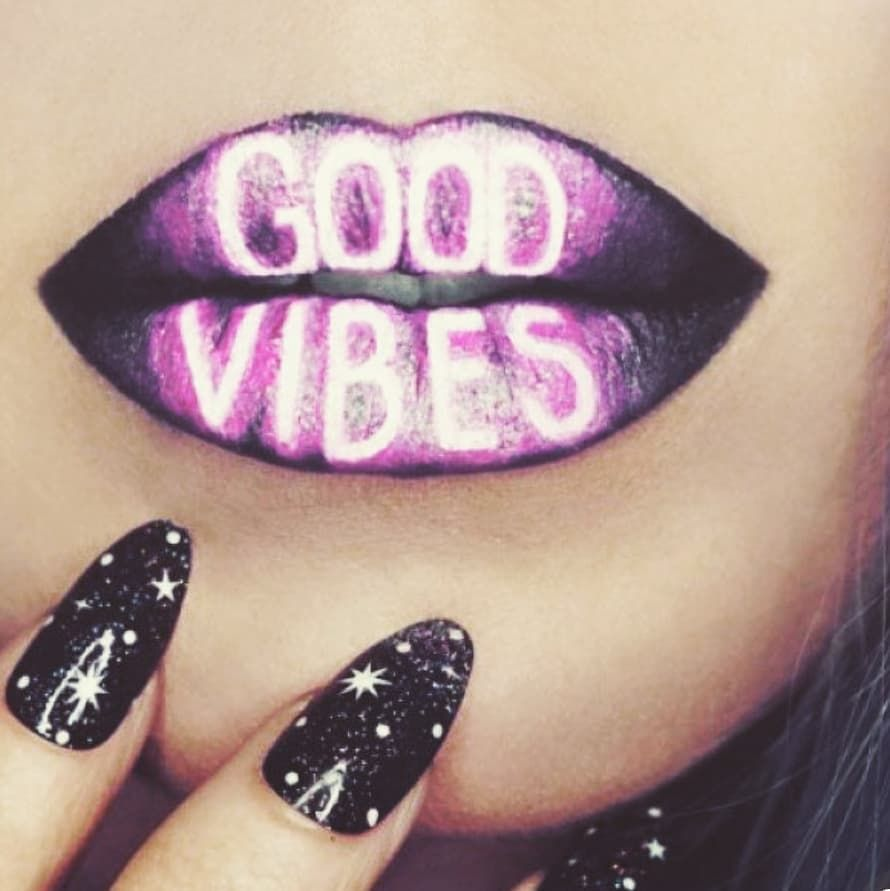 Nothing But Goodvibes Here At The Makeup Club Shop With Us Today Lip Art Lip Colors Lip Designs