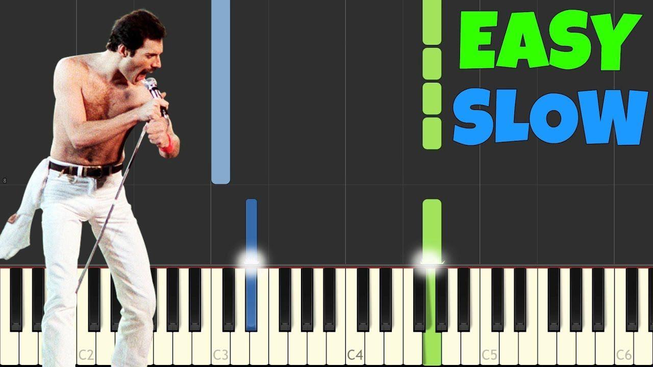 Slow Easy Piano Tutorial | Asdela