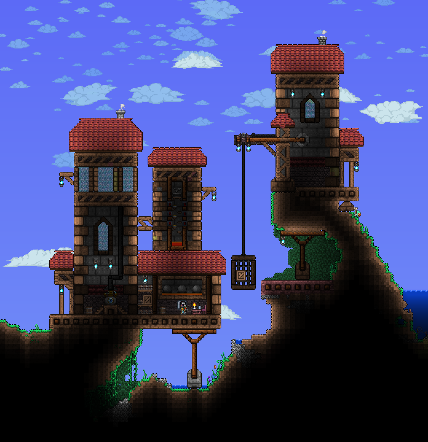 Terrarium Terraria House Design: Pin By Andrea Donahue On Terraria