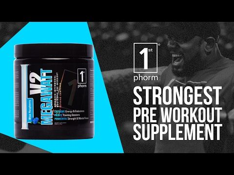 Megawatt V2 Energy Pre Intra Workout Products Pre Workout Supplement Workout Supplements Preworkout