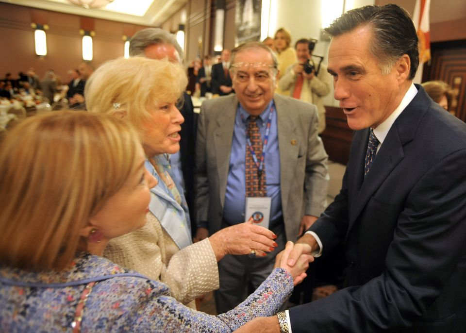 Mitt Romney Issues | Mitt Romney talks up 2012 political issues, and 'sports,' at Forum ...