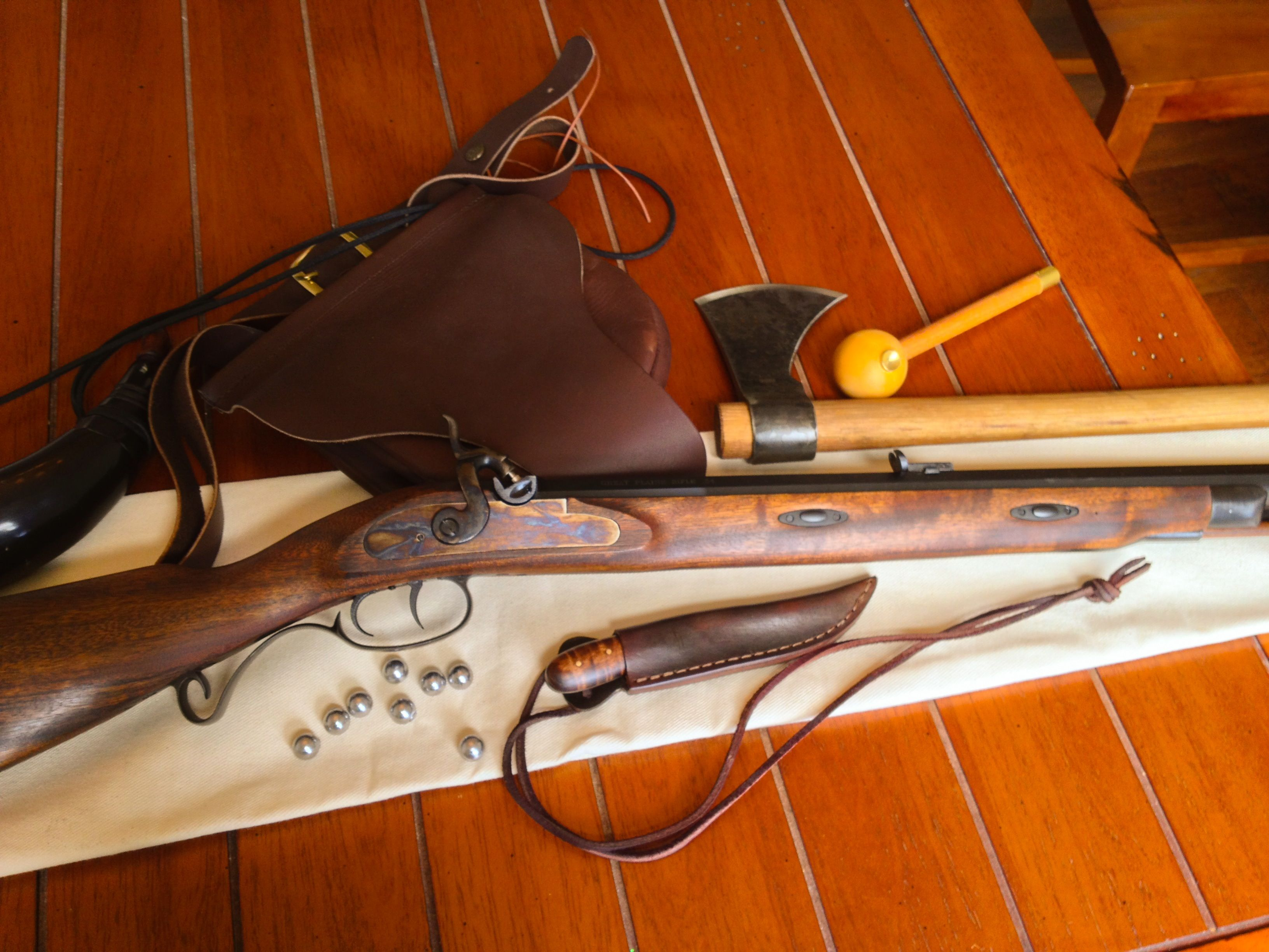My Lyman Great Plains Rifle and kit | Black powder, muzzle-loading