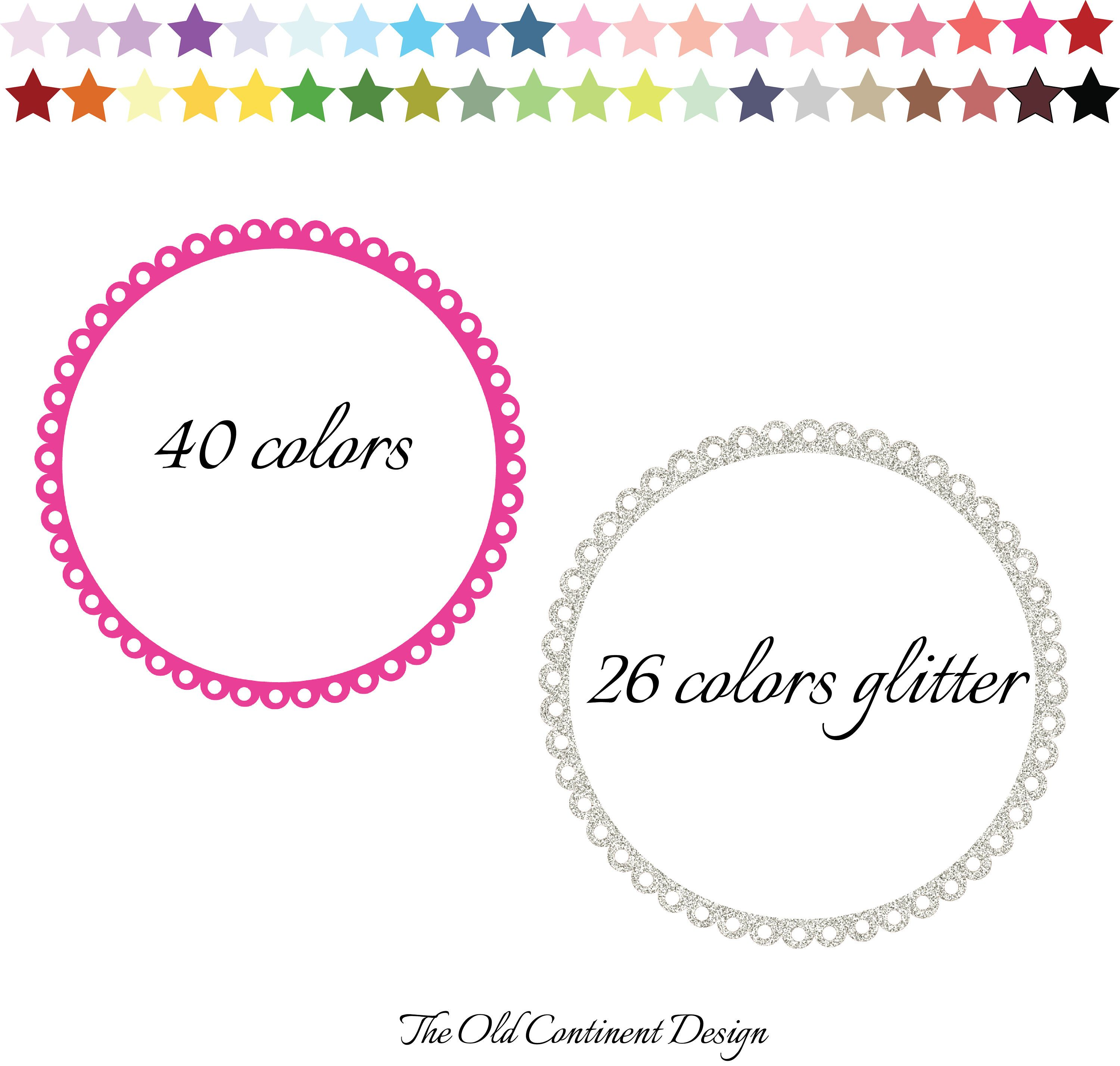 Circle Labels Clipart, Circle Frames and Tags, Round Frame Clipart ...