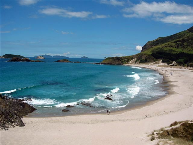 Pacific Beach, Whangarei Heads, The North Island, New Zealand