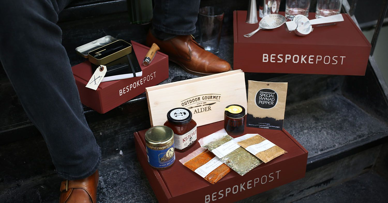 Bespoke Post Gift boxes for Men- Curated Themed boxes, choice goods, and stories to help you make the most of it all