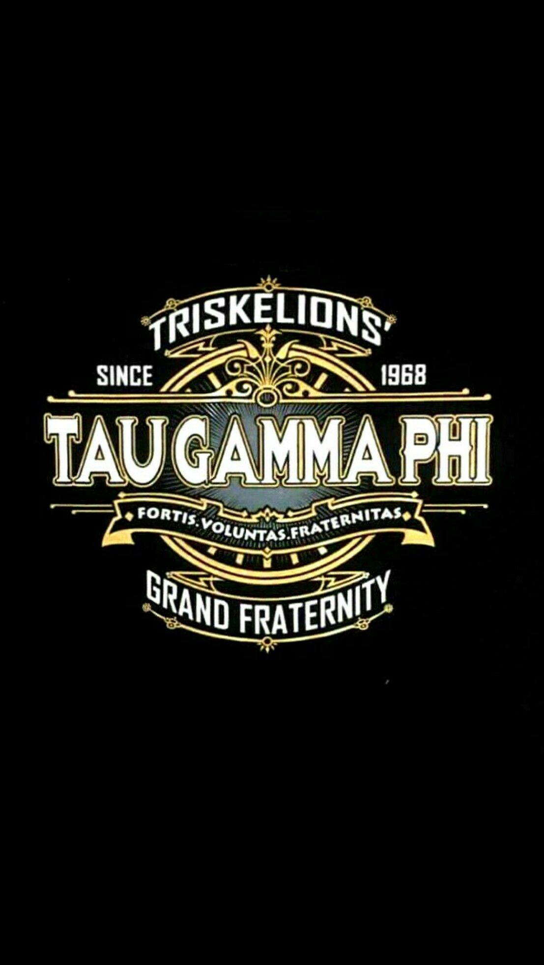 Taugamma Triskelion Black Wallpaper Android Iphone49