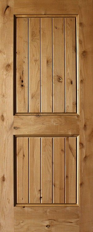 Knotty alder panel plank square top rail interior also doors rh pinterest