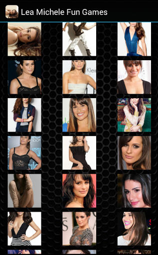 This is a game puzzle for Lea Michele's fans. <p>This game:<br>- very simple<br>- challenging<br>- minor bugs<br>- many levels<p>Who is Lea Michele?<br>Lea Michele Sarfati (born August 29, 1986), known professionally as Lea Michele, is an American actress and singer, best known for her performance as Rachel Berry on the Fox television series Glee. Michele's portrayal of Rachel has received much critical praise, earning her two Golden Globe Award nominations for Best Actress – Television…