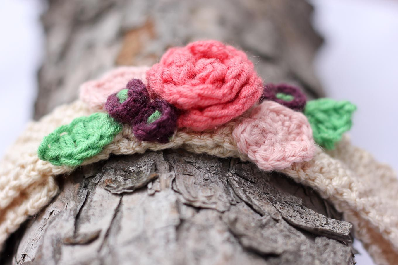 Unique Headband Crochet Pattern With Pretty Flower Picture ...