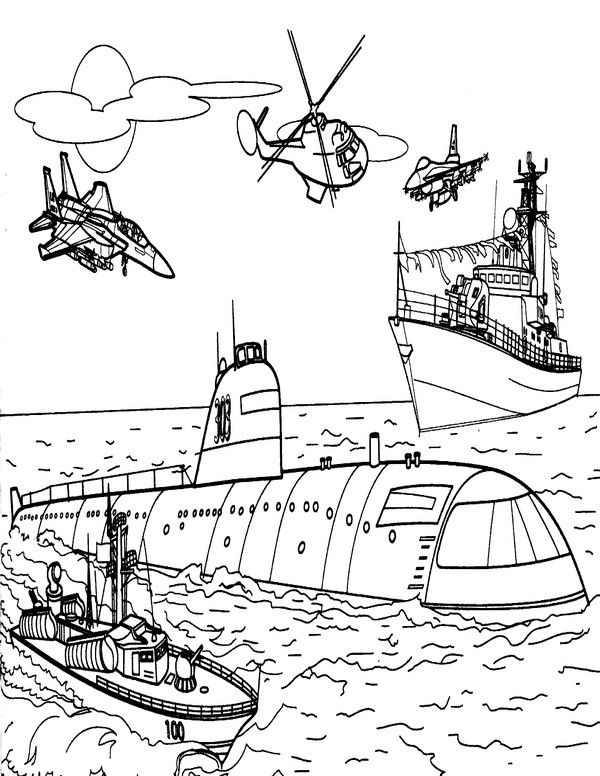 Boats Coloring Pages 6 | Coloring pages for kids | Pinterest