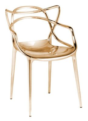 Fauteuil Empilable Masters Kartell Or Made In Design Philippe Starck Masters Chair Armchair