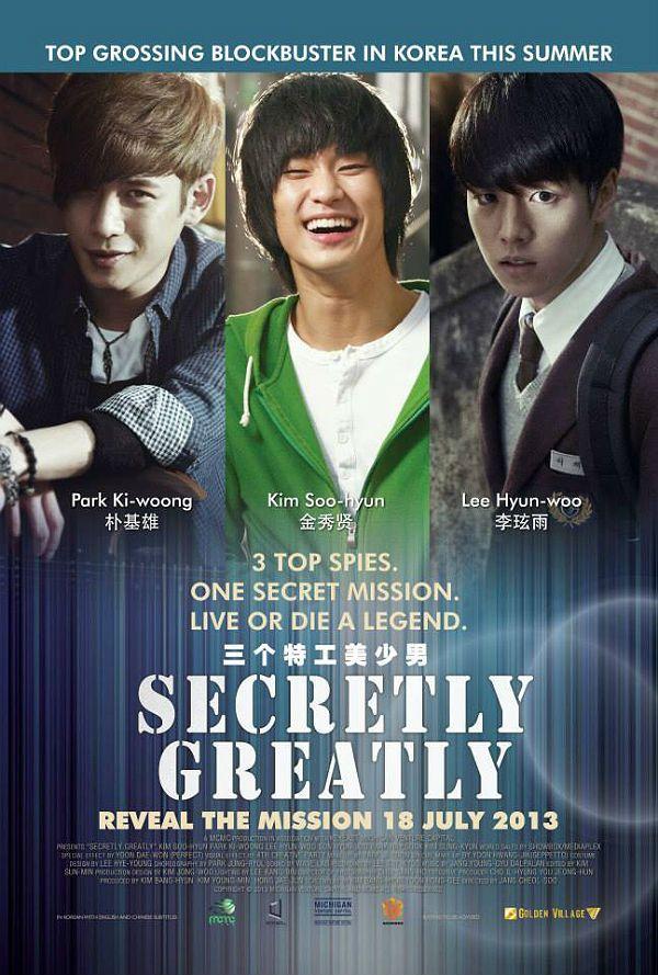 9 of 10 Secretly, Greatly (2013) Korean Movie Action