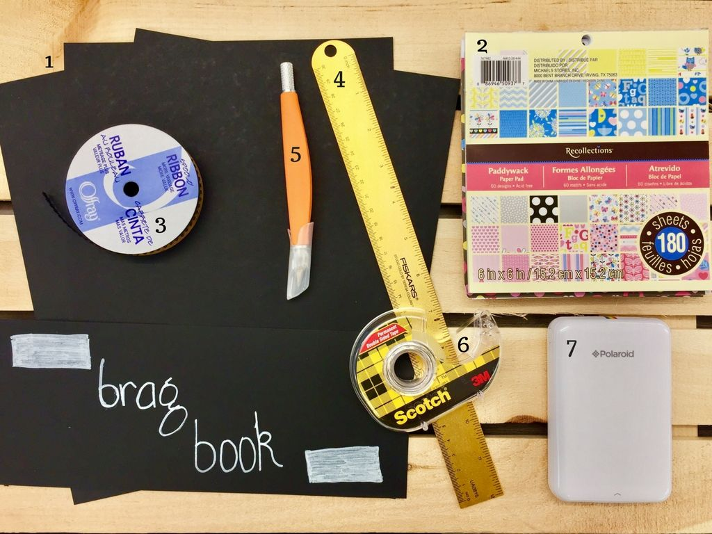 Materials 1 3 To 4 Sheets Of Cardstock Paper 2 Paper Pads 3 Ribbon 4 Ruler 5 Paper Cutter 6 Double Adhesiv Paper Pads Cardstock Paper Card Stock