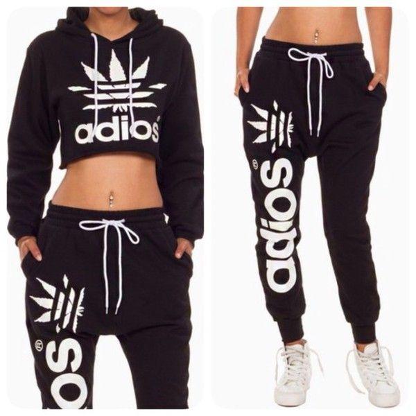 Opcional Autorizar famoso  Adidas Originals Baggy Sweatpants | Womens Sportswear | Sports | Sporty  outfits, Tracksuit women, Adidas outfit