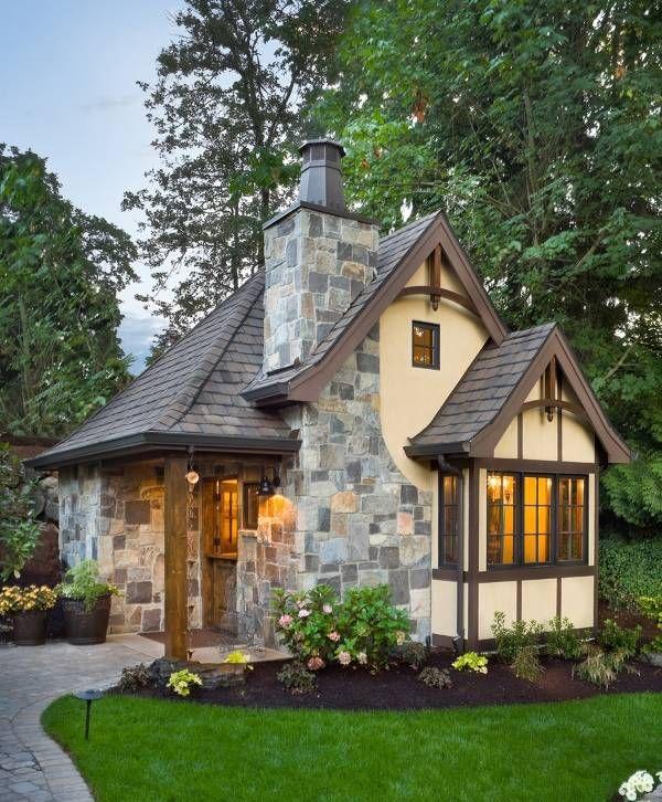 Отделка фасада дома – 40 красивых фото частных домов (с ...