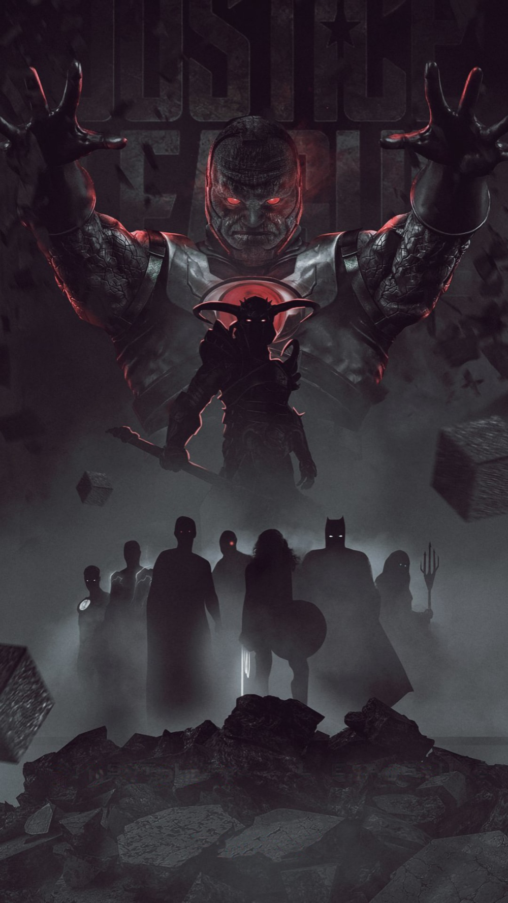 Zack Snyder S Justice League Best Smartphone Wallpapers In 2021 Justice League Art Darkseid Justice League Justice League Comics
