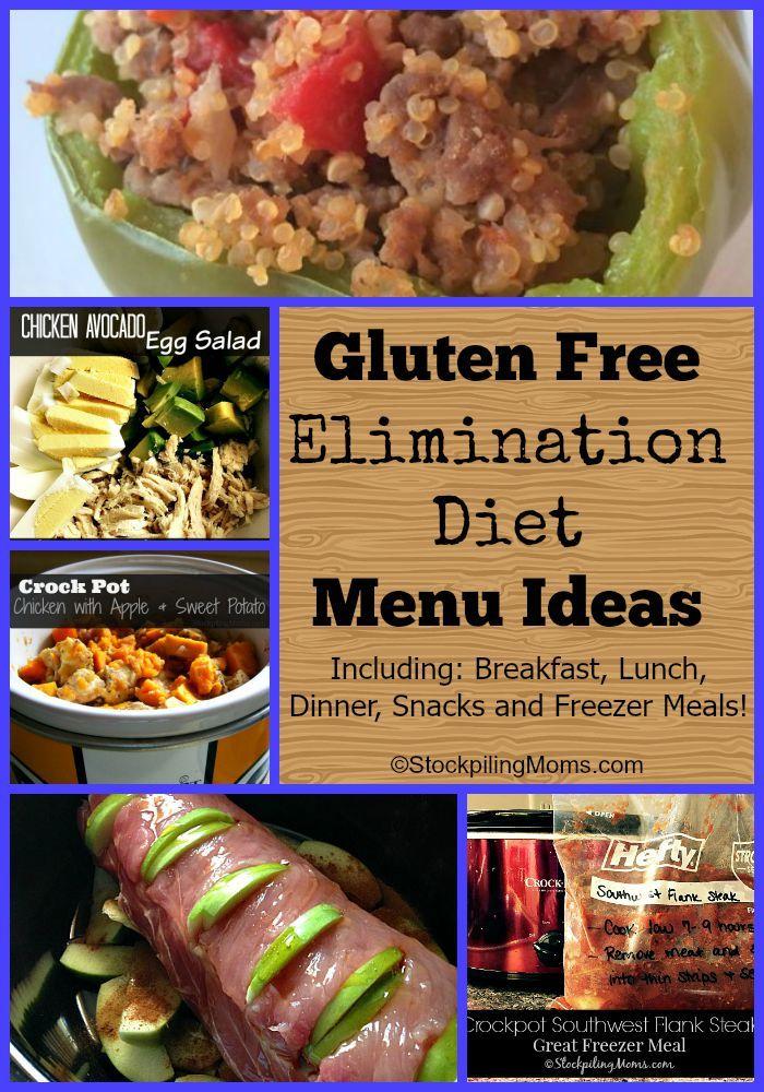 Gluten Free Elimination Diet Menu Ideas