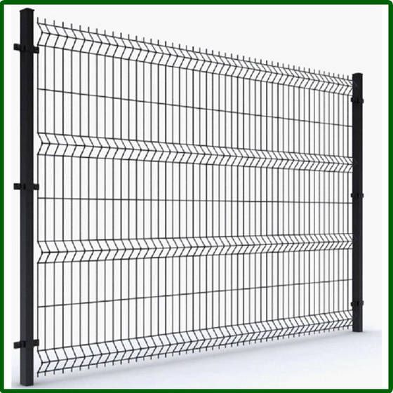6ft wire fencing | ... fence.It is triangle bending welded wire mesh ...