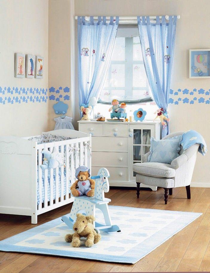 Blaue Akzente für einen kleinen Jungen