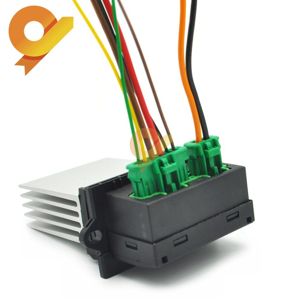 27150 Ed70a Heater Fan Control Module Resistor Plug For Renault Megane Sport Tourer Scenic Mk 2 Citroen C2 C3 C5 1 4 1 6 2 0 Renault Megane Heater Fan Renault