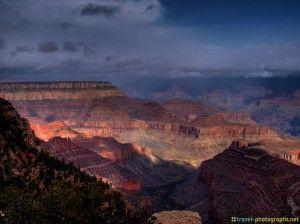 #Thunderstorm over #GrandCanyon #Thunder #Lightning #Clouds #HDR #arizona - more on www.travel-photographs.net
