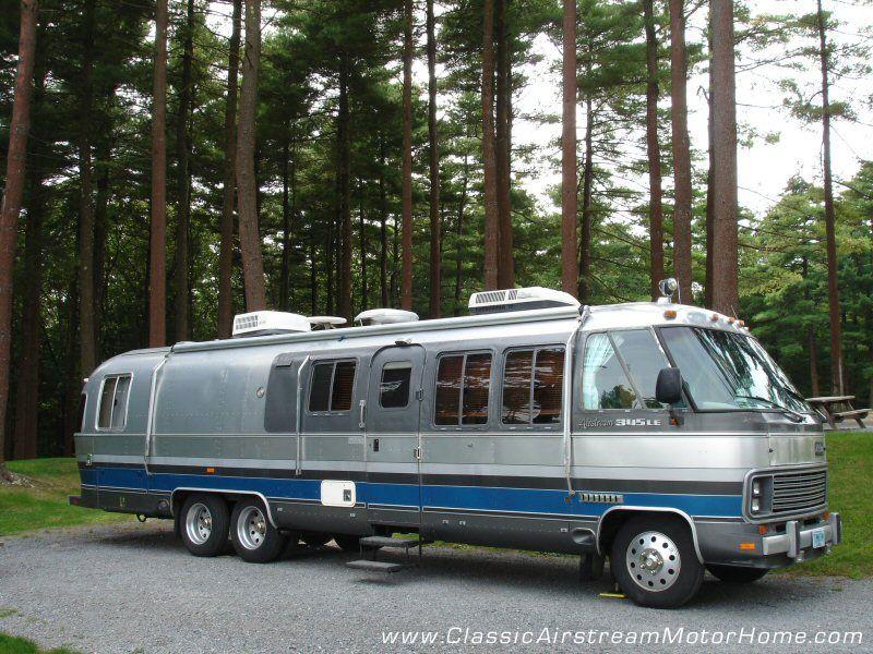 Classic Airstream Motorhome