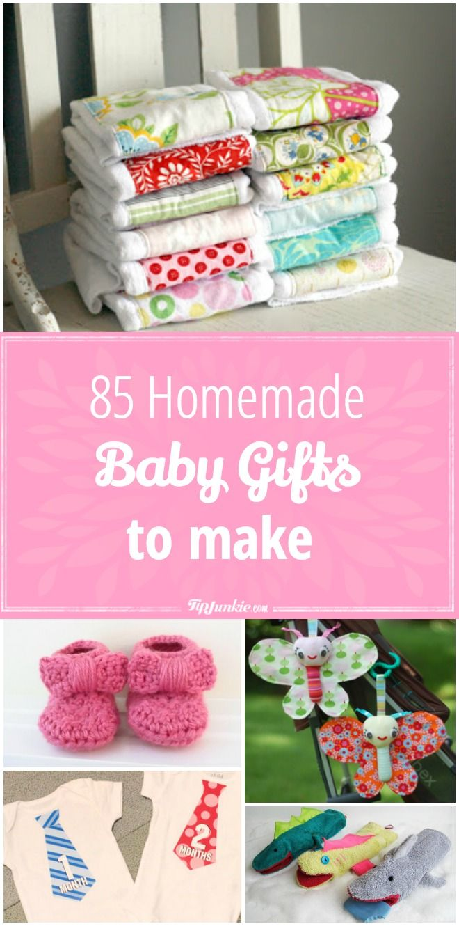 85 Baby Homemade Gifts to Make | Parenting | Pinterest | Baby ...
