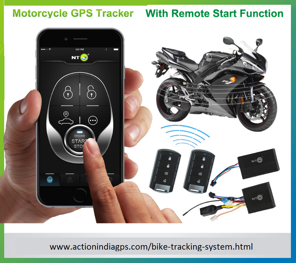 Buy Online Modern Technology Base Bike Tracking Device System In Remote Start Help Delhi At Very Lowest Prices From