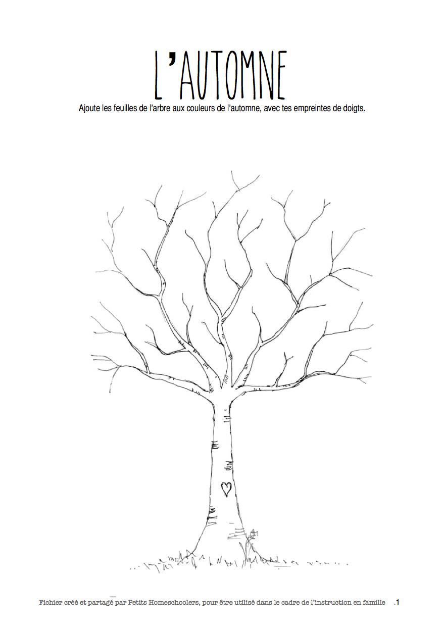 Petits Homeschoolers Fichier D 39 Activit S Sur L 39 Automne Free Printable Automne Pinterest