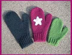 free crochet children's mitten patterns - Bing Search