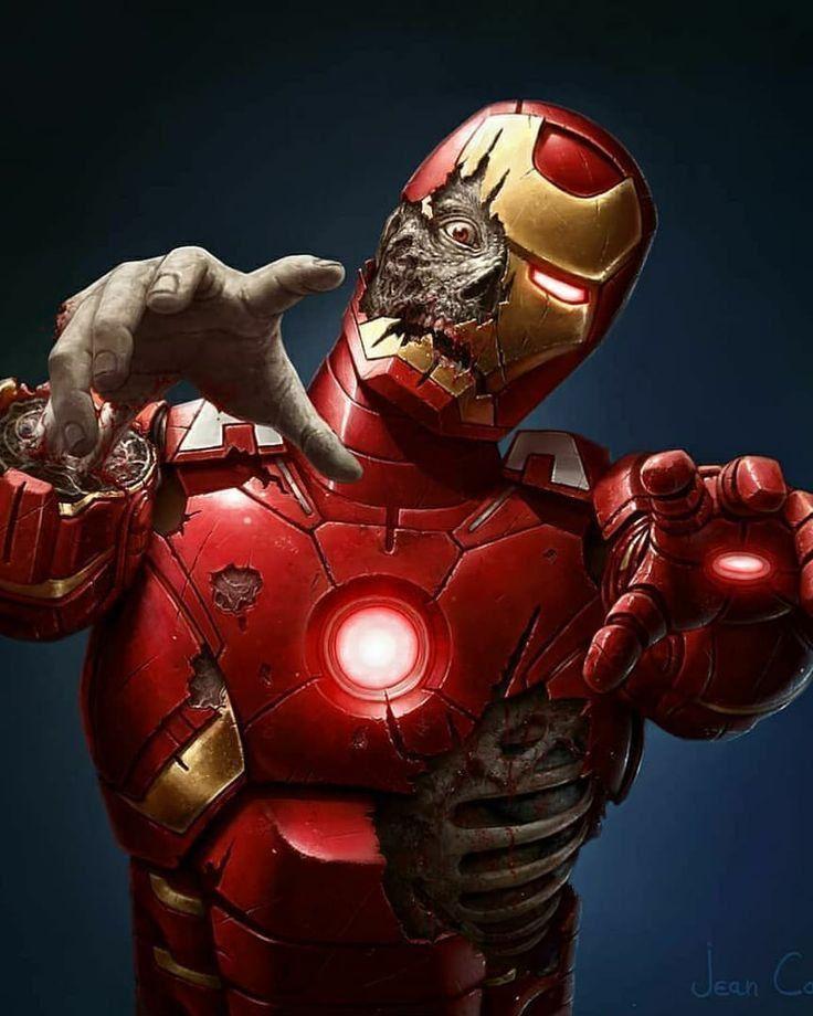 #zombieapocalypse #ironman #ironmansuit #ironmanarmor #zombieland #avengers #team #red #colorful #tiktok #hands