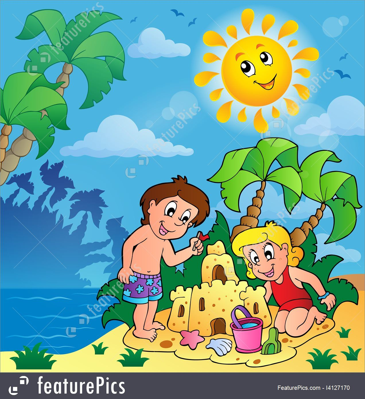 Summer Season Images For Children Summer Theme With