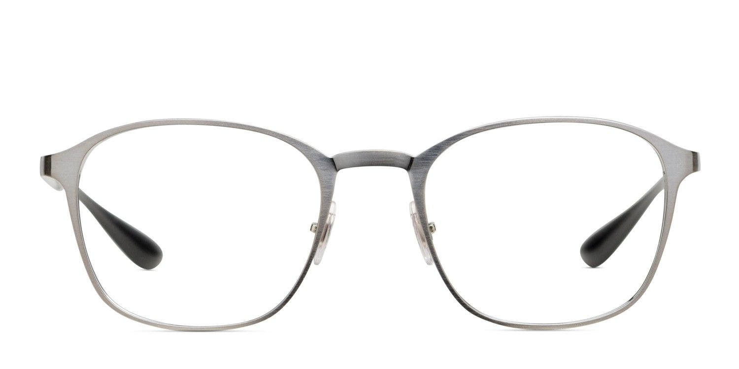 df18848f1cb2 The Ray Ban 6357 is a roundish full-rim frame with slim metal arms for  support. Its adjustable silicone nose pads come in handy while reading that  great ...