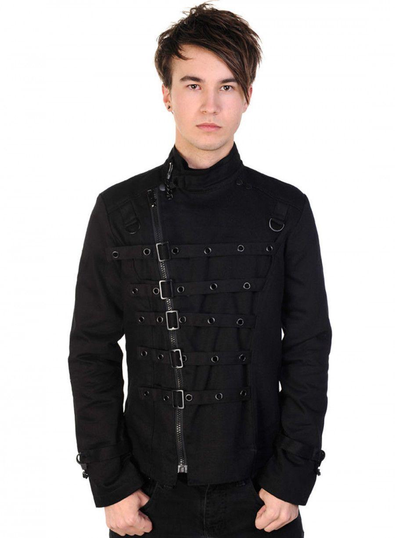 Deverell jacka | Cyber goth clothing, Gothic jackets