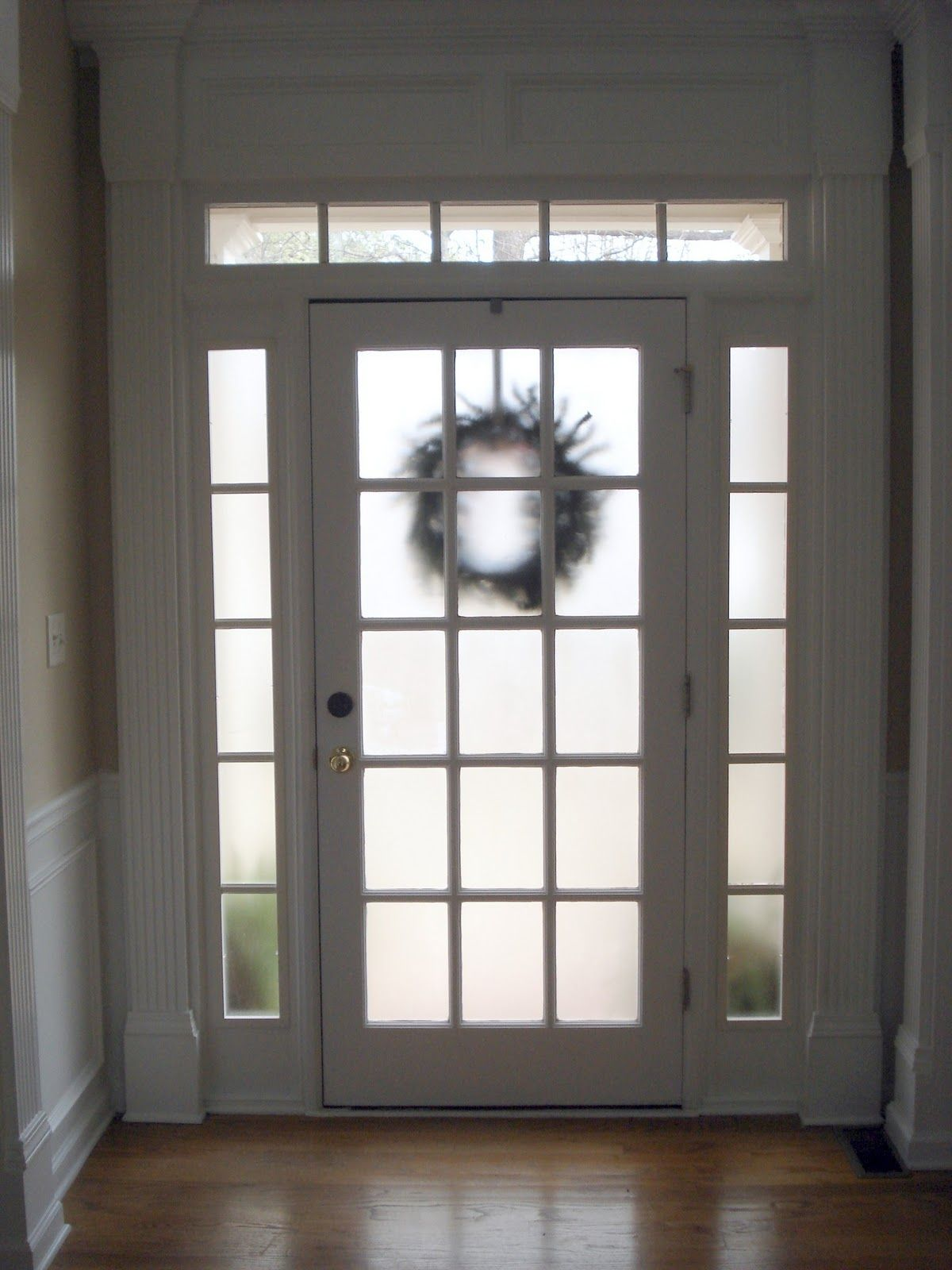 Before meets after how to make your front door more for 10 pane glass door