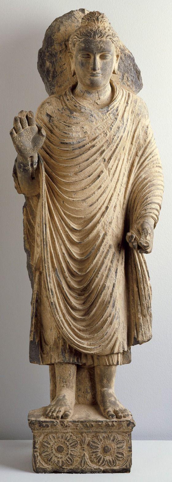Buddha Shakyamuni Pakistan, Gandhara region, 1-2 century