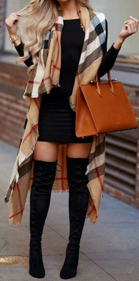 Women Fall Outfits Casual >> 24 Women Fall Outfits With Boots | Women's Fall Fashion Trends O...