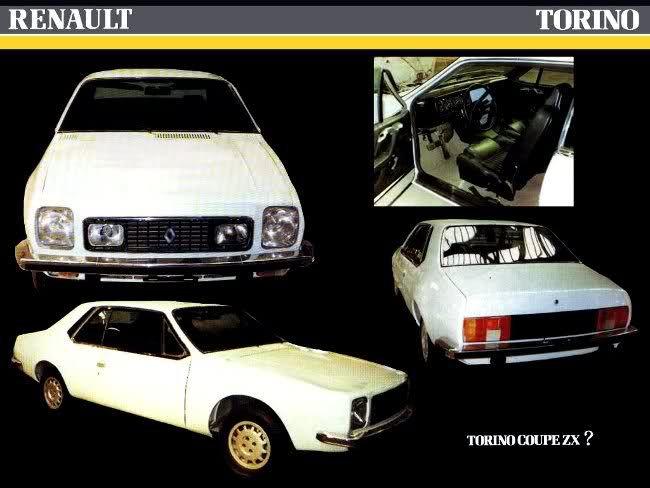 Renault 40 Zx Coches Autos Prototipos