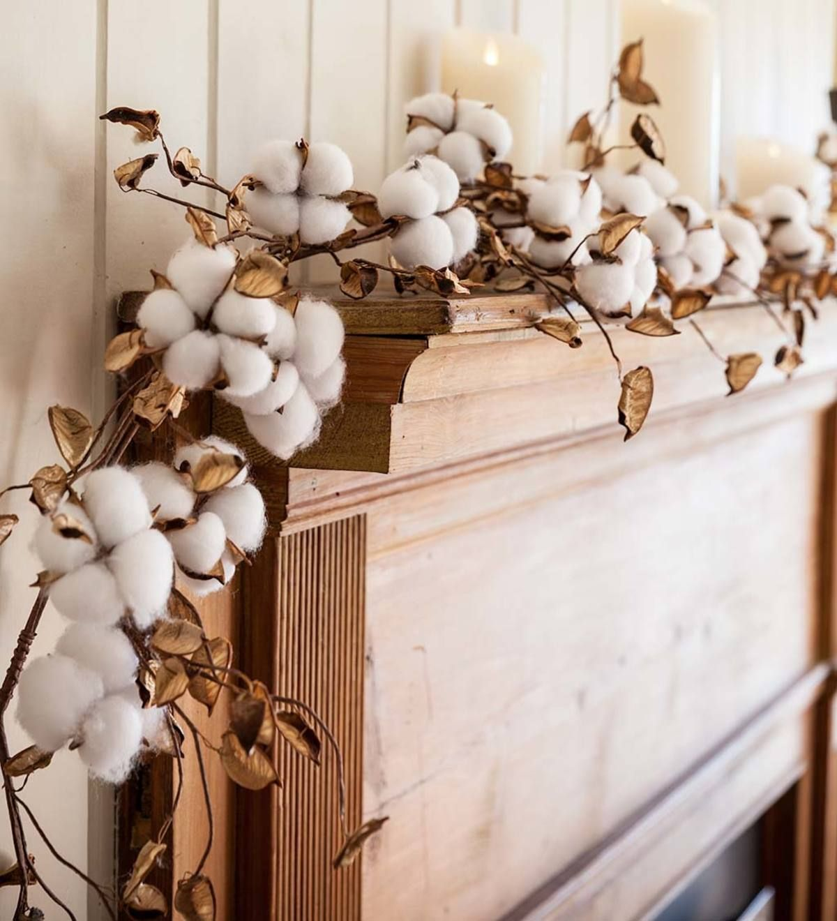 Decorative Cotton Garland Cotton Decor Garland Decor Decor