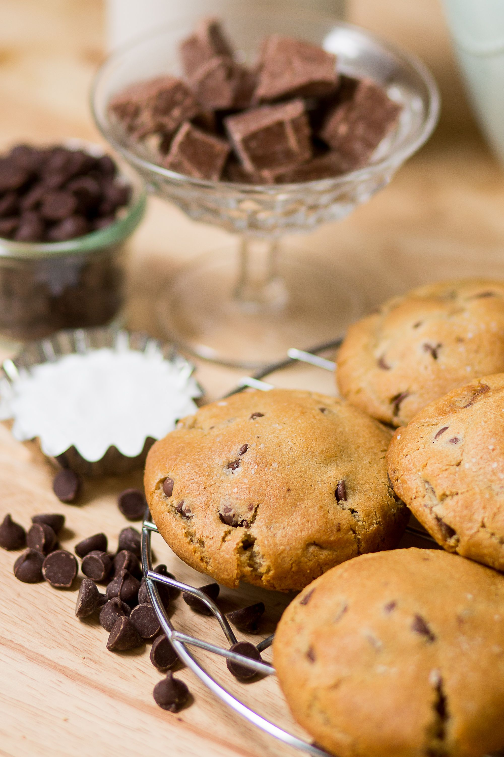Fresh gluten free chocolate chip cookies delivered right