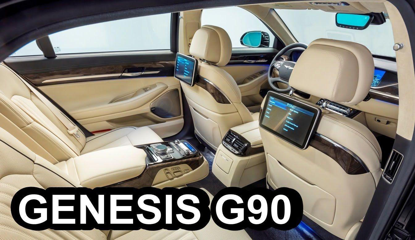 2017 Hyundai Genesis G90 Interior