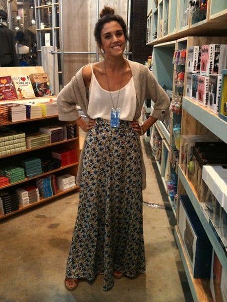 Skirt , Wheretoget. Long Skirt OutfitsLong