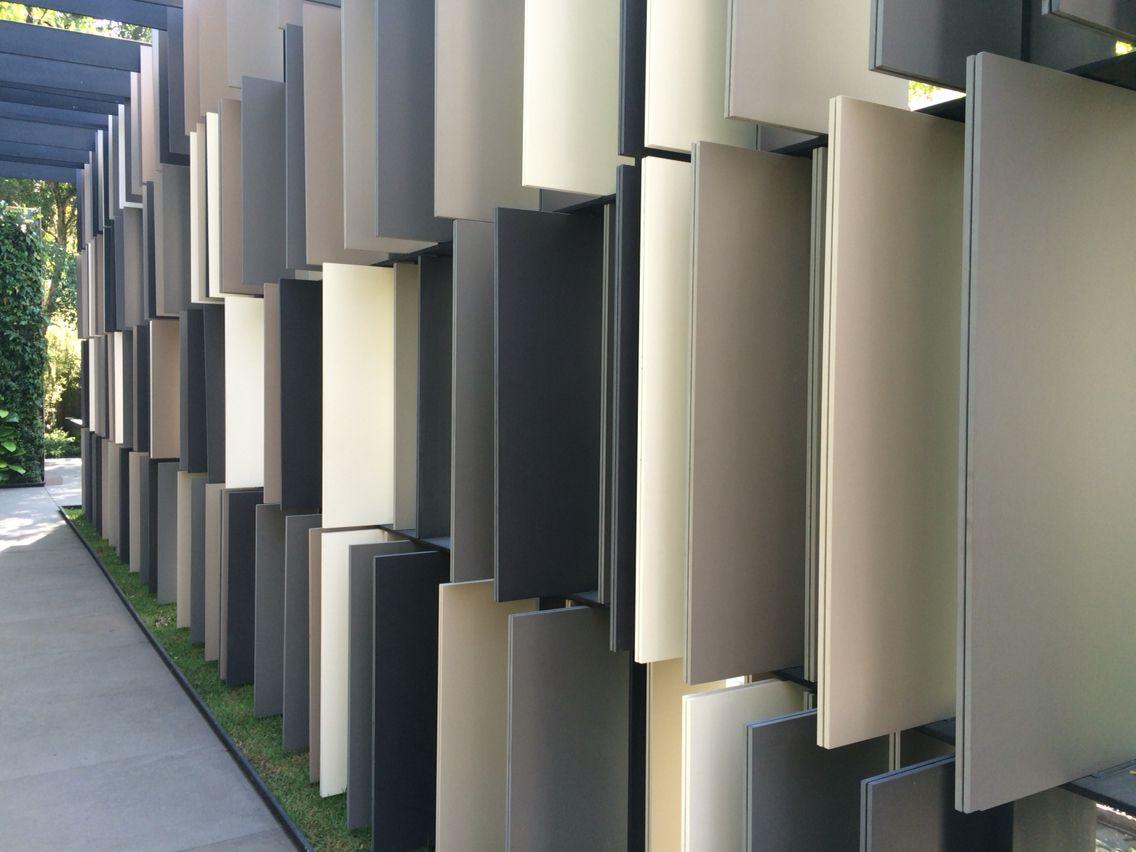 Proteção vertical   Insolação  Placas retrateis