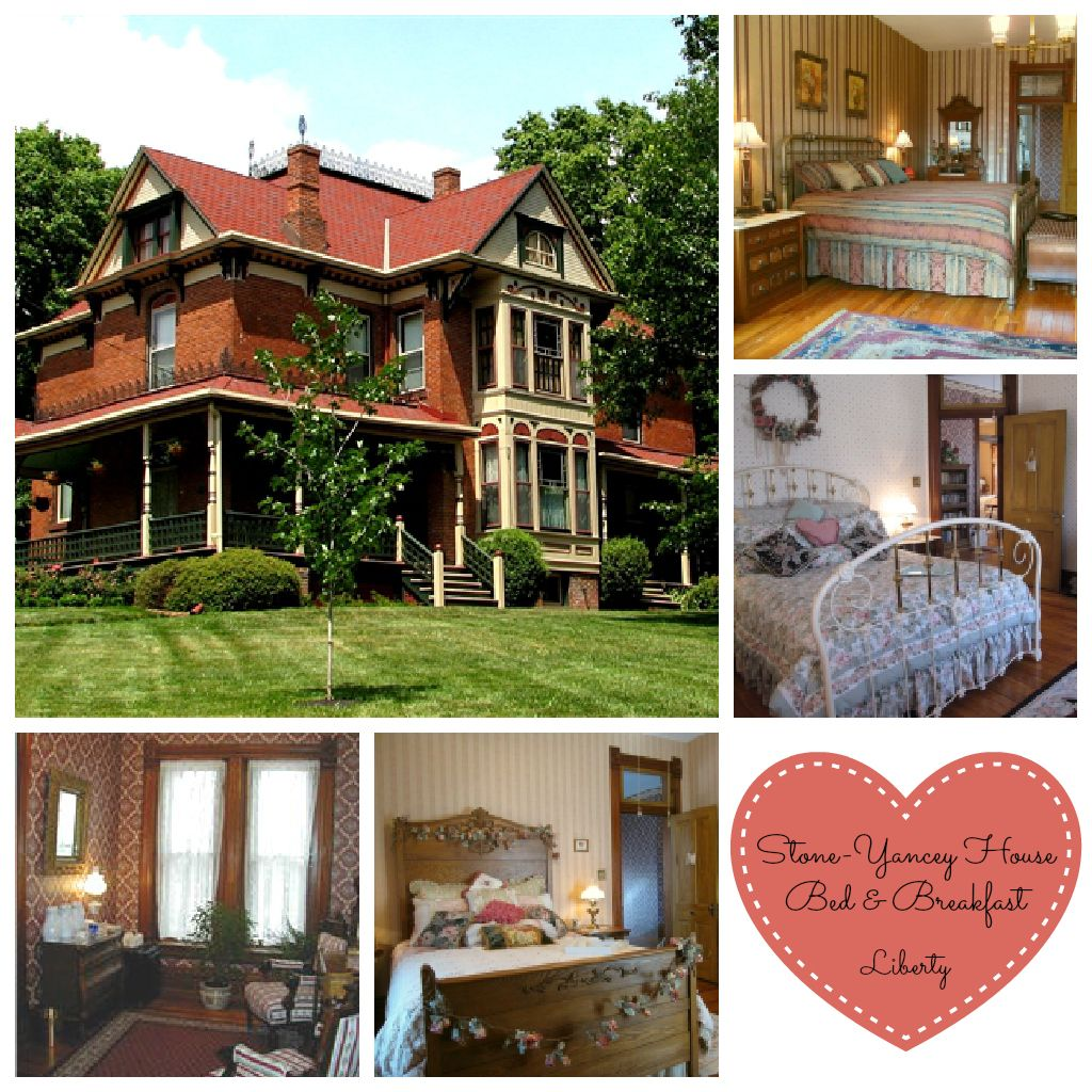 This 1889 Victorian inn in Liberty, Missouri, offers