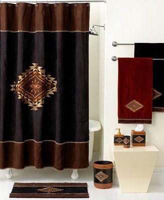 Avanti Bath Accessories Mojave Shower Curtain Hooks Set Of 12