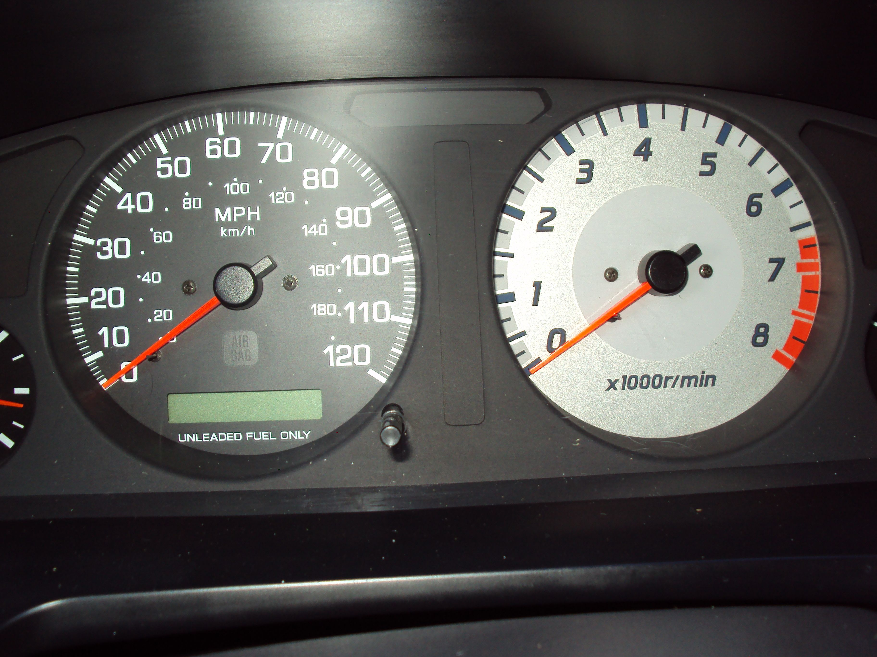 98 nissan pathfinder added a new tach