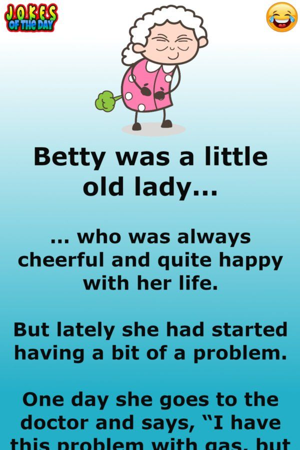Old Lady With A Farting Problem