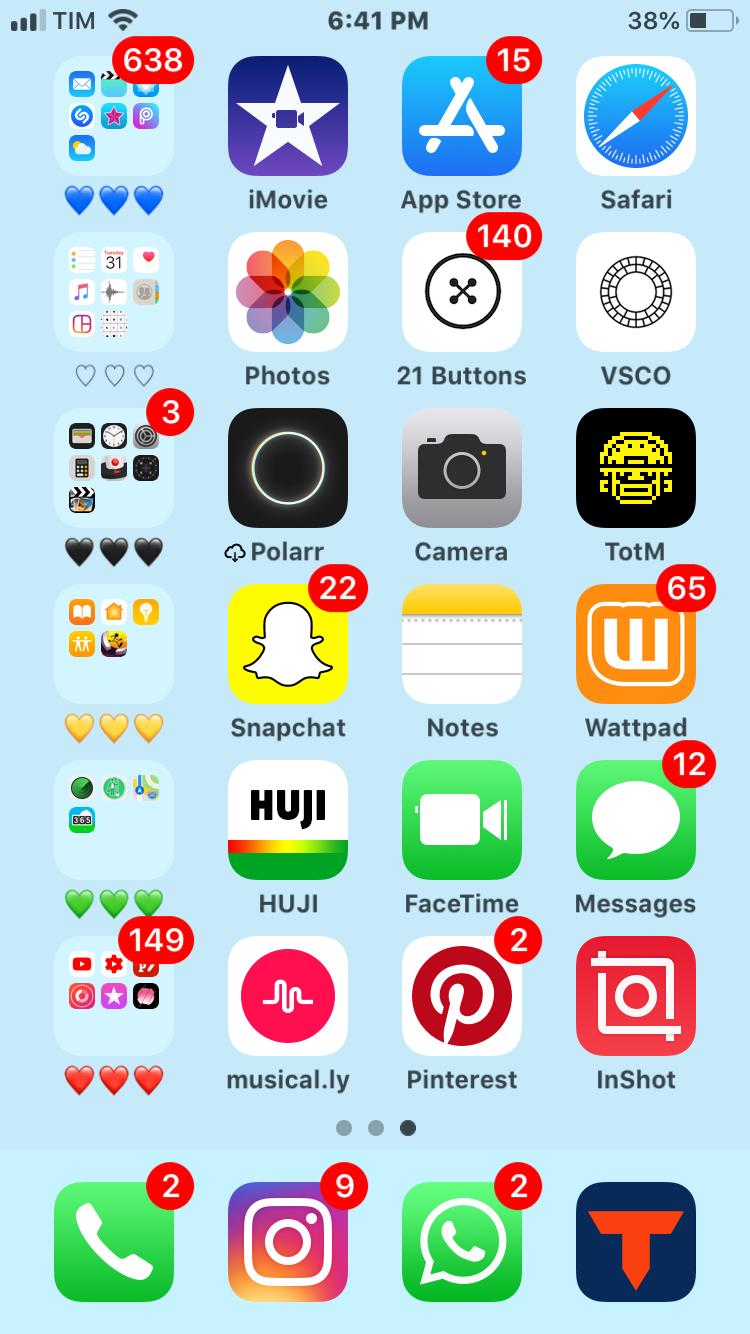 Pin by ʀᴀᴠᴇɴ ღ on phones Homescreen iphone, Iphone