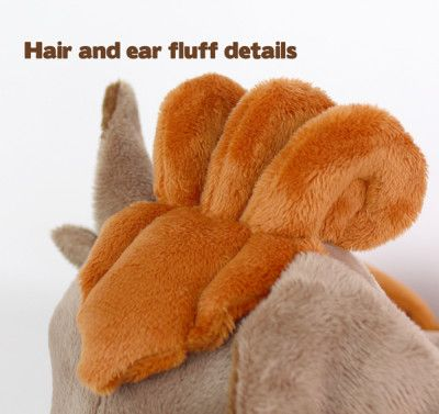 Free plushie sewing pattern: Vulpix tails & hair for Newborn Fox ...