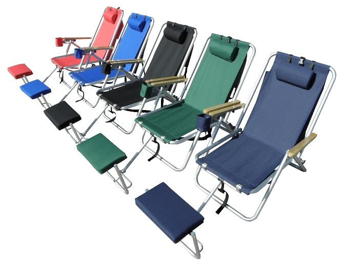 beach chairs with footrest chair swivel base hardware backpack decor pinterest